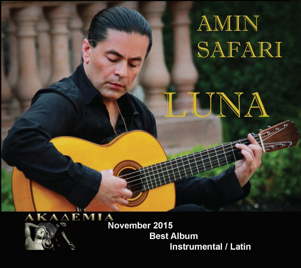Luna is the winner of best album in latin / instrumental category from Akademia
